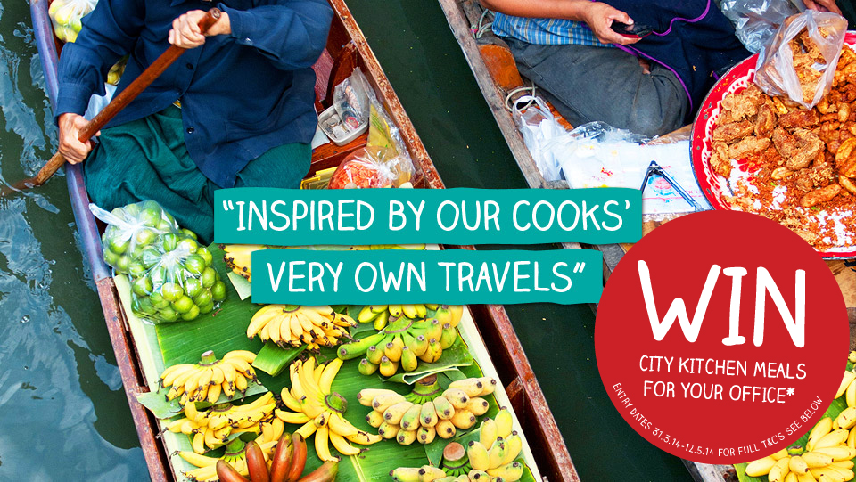 Inspired by our cooks very own travels